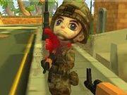 Игра Мультяшек солдат
