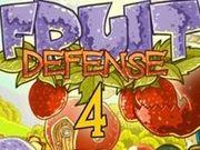 Игра Защита фруктов 4