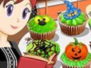 Игра Halloween Cupcakes: Sara's Cooking Class