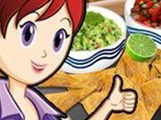 Игра Начос и соусы: уроки кулинарии от Сары