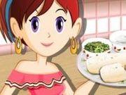 Игра Сара на кухне: готовим буррито