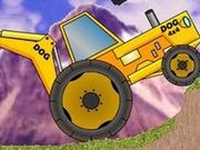 Игра Backhoe Trial