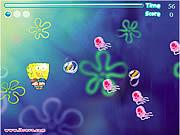 Игра Губка Боб и воздушные шары