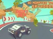 Игра 3D Monster Truck: Skyroads