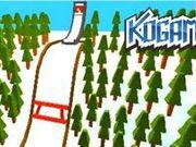 Игра Когама: Прыжки на лыжах
