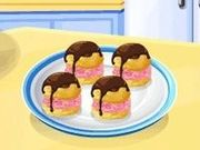 Игра Эклеры с мороженым: кулинарный класс Сары