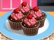 Игра Sara's Cooking Class: Raspberry Chocolate Cupcakes