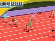 Игра Летние виды спорта: бег с барьерами