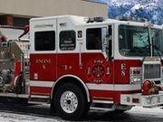 Игра Зимний грузовик пожарных