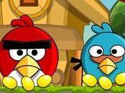 Игра Злые птицы возвращаются в гнездо