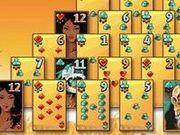 Игра Пасьянс пирамида - ацтеков