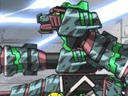 Игра Роботы динозавры: Сейсмозавр