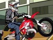 Игра Час пик мотокросс