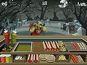 Игра Готовим Зомби-Бургер