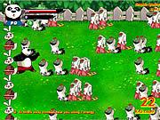 Игра Панда против Зомби