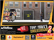 Игра Подземный тони хоук 2