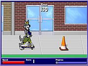 Игра Разведчик скейтбординг