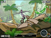 Игра Мото триал в джунглях