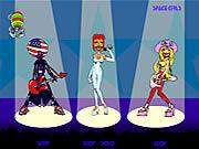 Игра Космические девушки поют