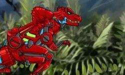 Игра Робот Дино: поле битвы