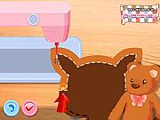 Игра Шьем Медвежонка Тедди