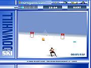 Игра На лыжах горных
