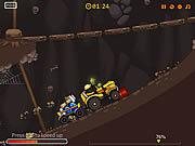 Игра Крот на тракторе 2