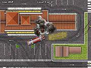 Игра Водитель пожарного грузовика