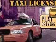 Игра Лицензия такси 3д