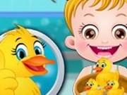 Игра Малышка Хейзел: Жизнь Уточки