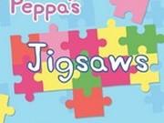 Игра Свинка Пеппа: Пазл