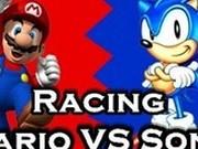 Игра Соник Против Марио