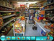 Игра Найти предметы - супермаркет