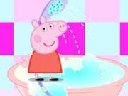 Игра Ванная Комната Свинки Пеппы