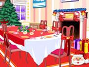Игра Украшение Столовой к Рождеству 2