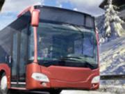 Игра Водитель Автобуса Зимой 2