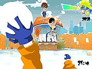 Игра Поле сражения снежный Наруто