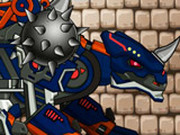 Игра Роботы Динозавры: Чёрный Сколозавр