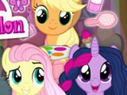 Игра Парикмахерская Пони