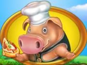 Игра Веселая Ферма: Печем Пиццу