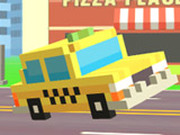 Игра Пиксельная Дорога: Такси