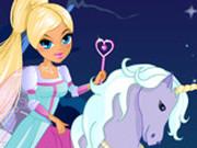 Игра Принцесса и Единорог