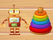 Игра Кроссворд: Детские Игрушки