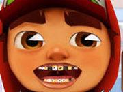 Игра Сабвей Серф: Проблемные Зубы