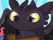 Игра Как Приручить Дракона: Обед Сюрприз