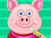 Игра Маленькая Свинка в Больнице