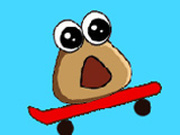 Игра Поу: Прыжки на Скейтборде