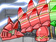 Игра Роботы Динозавры: Рыцарь Анкилозавр