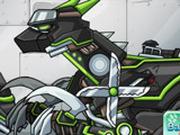 Игра Робот Ниндзя: Велоцираптор