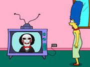 Игра Мардж Симпсон и Пила